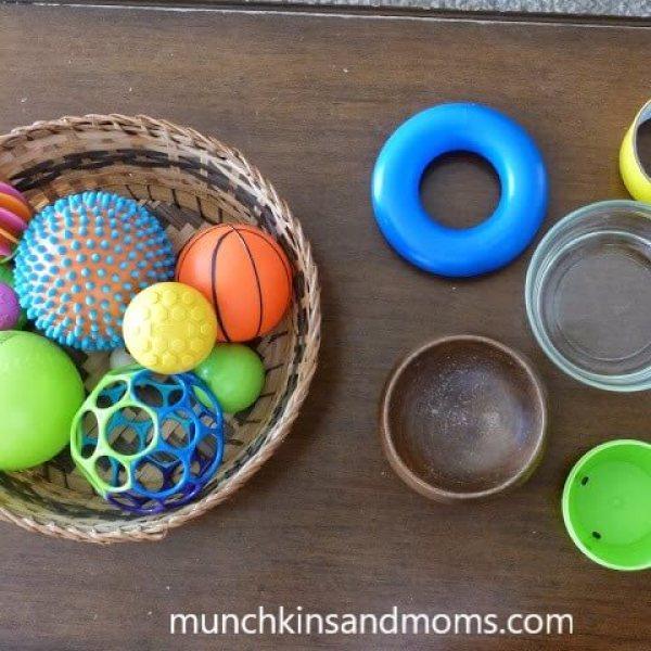 bolas, formas e potes