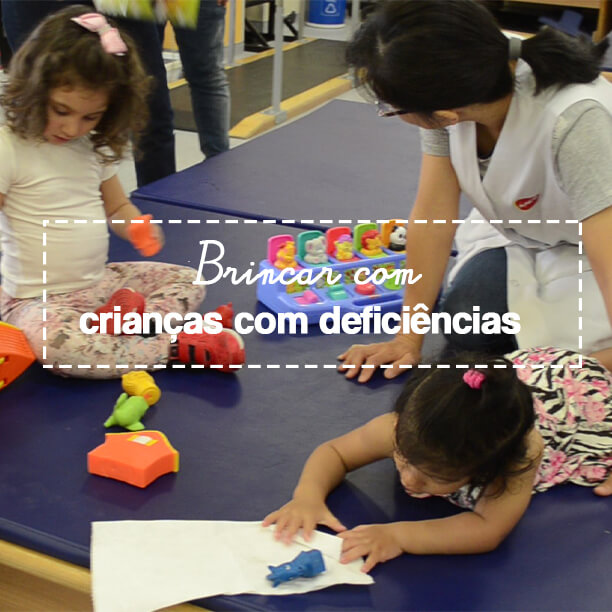 AACD-Teleton: Brincar é a forma mais inclusiva de interação com as crianças