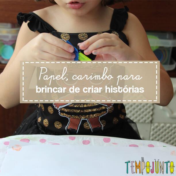 Como criar uma história: atividade para crianças