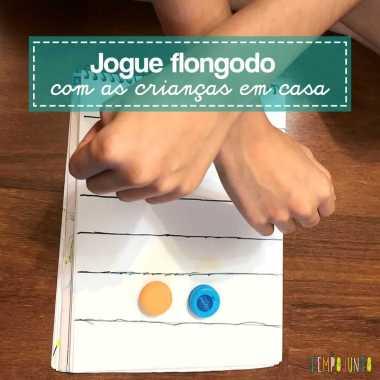 Flongodo é um jogo simples de matiz africana para fazer em casa com os filhos