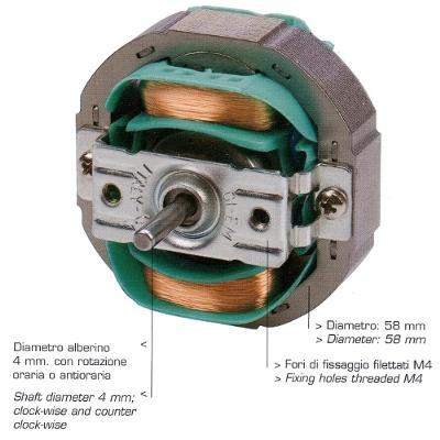 Motori ad induzione Tipo TYJF516  Milano