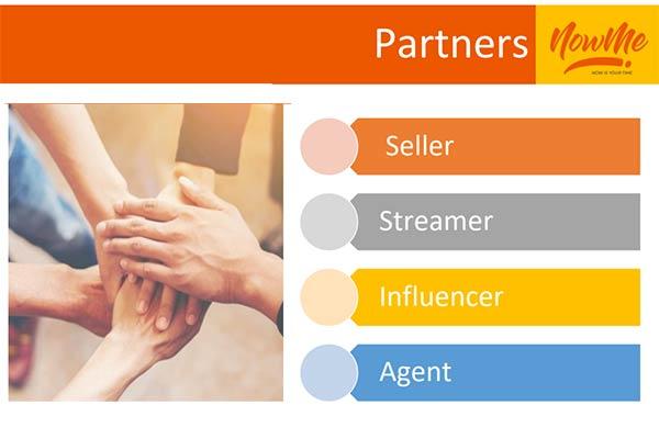 NOWME Live Commerce partner