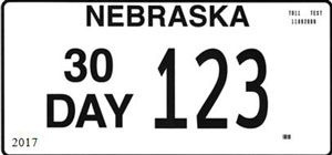 Temporary License Plate Stock for DMV & Dealers