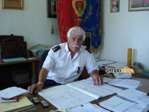 Il Comandante della Polizia Municipale di Minturno, Gian Matteo D'Acunto