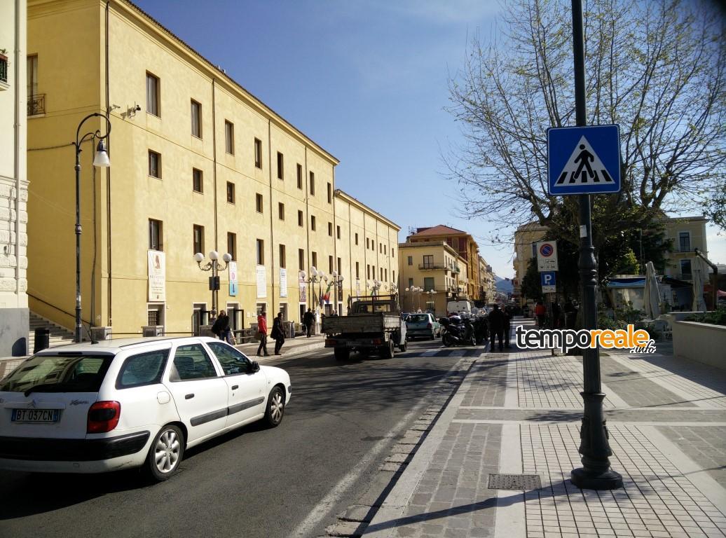 Via Vitruvio a Formia