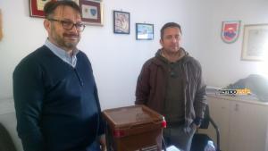 Alessandro Vona (assessore ambiente comune di Gaeta) ed Emanuele Savo (Ecocar)