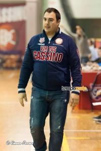 Luca Vettese coach Virtus Cassino