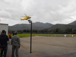 arrivo elicottero