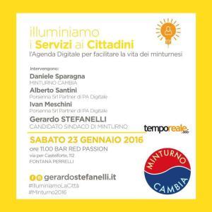 illuminiamo i servizi ai cittadini - agenda digitale