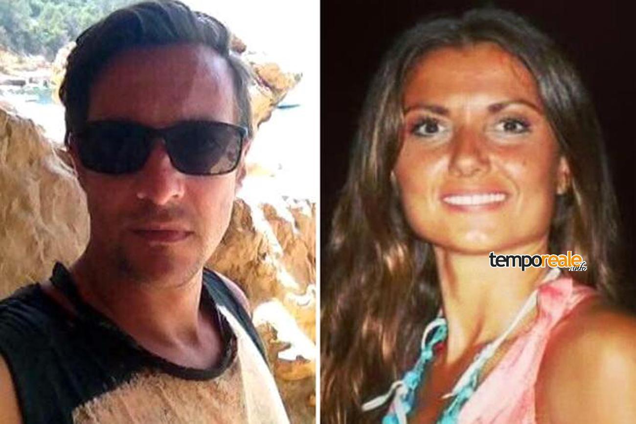Paolo Pietropaolo e Carla Ilenia Caiazzo (Ansa)