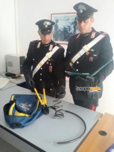 ladri di biciclette scauri carabinieri