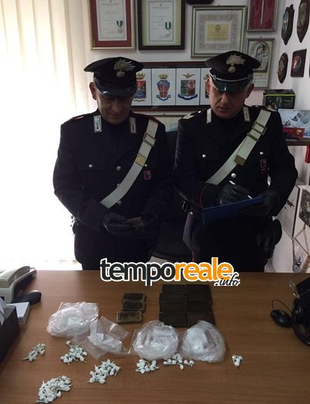 hashish cocaina sequestro scauri minturno 2