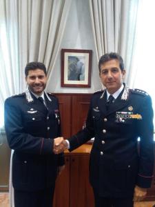 cambio guardia carabinieri latina