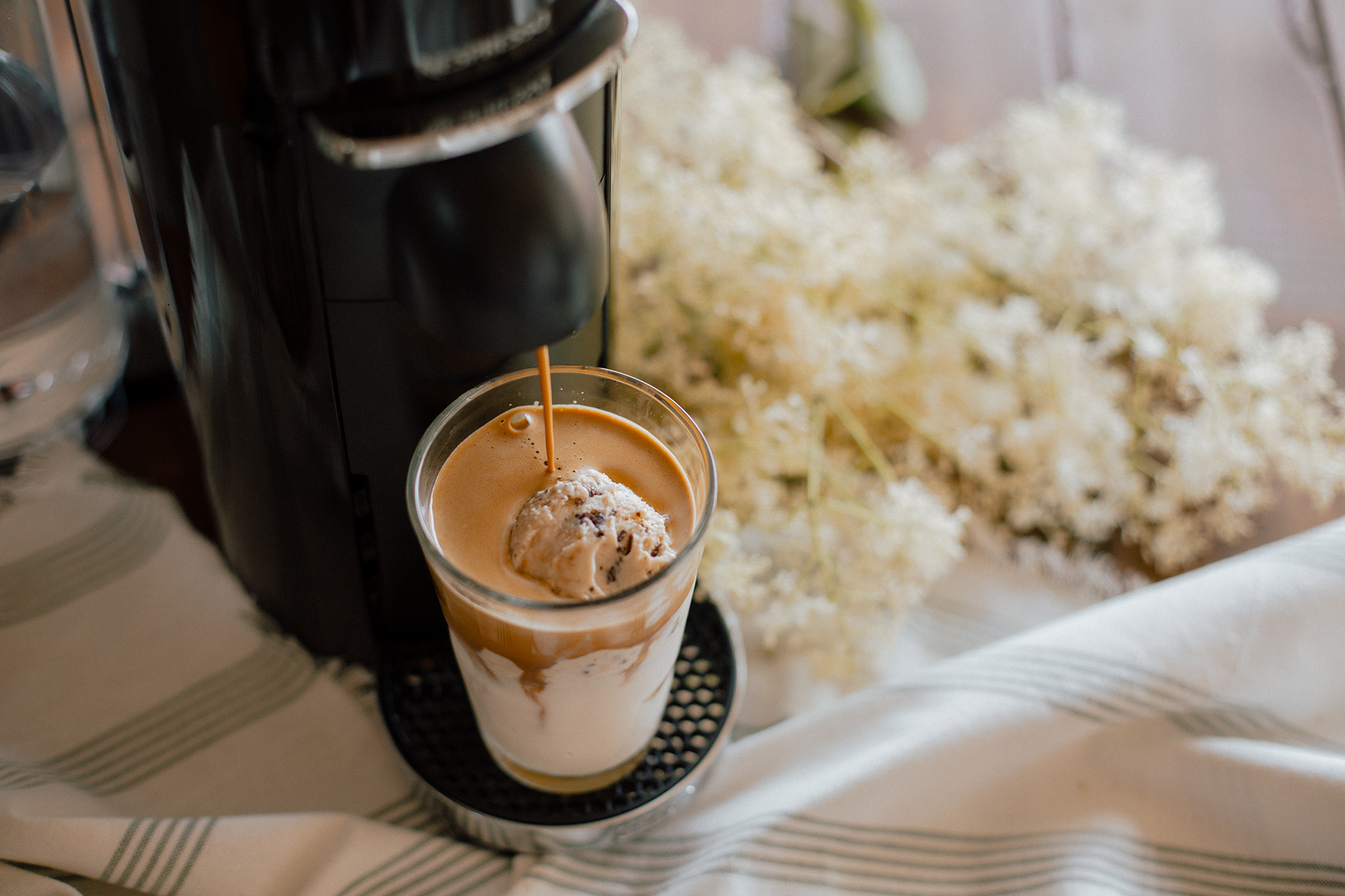The Perfect Nespresso Vegan Vanilla Latte Affogato Recipe