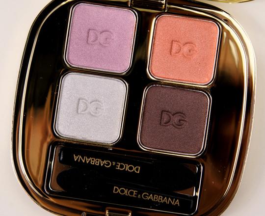Dolce Amp Gabbana Jewels 142 Eyeshadow Quad Review Photos