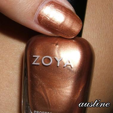 Zoya  Utopia Winter 2007 Collection  Austine Review