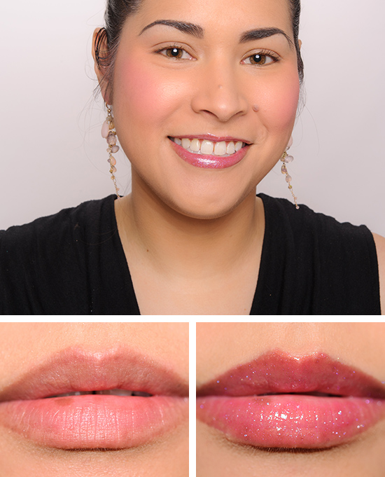 MAC Cherry Popping & Rollergirl Dazzleglasses Reviews. Photos. Swatches