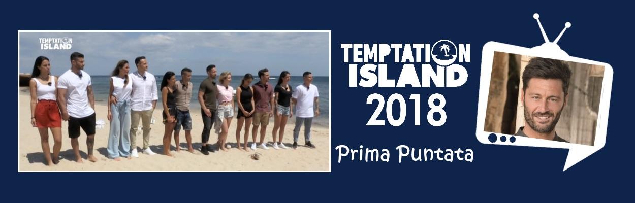 temptation island 2018 prima puntata copertina