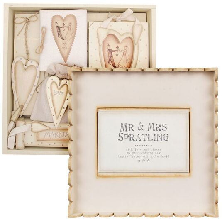 East of India Personalised Wedding Box Gift Set