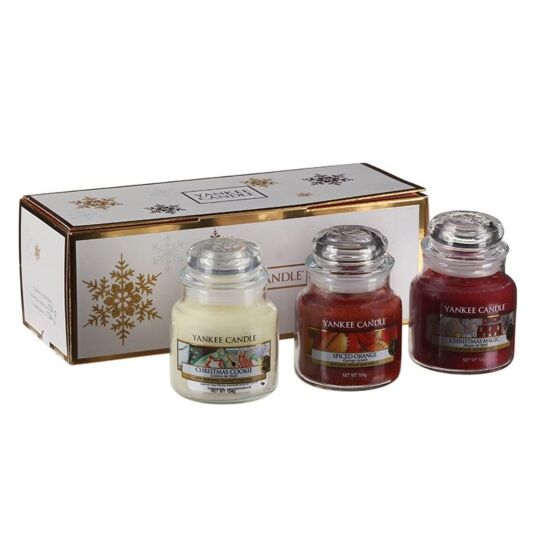 Yankee Candle Set of 3 Small Jar Candles Gift Set
