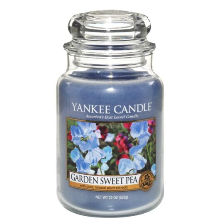Yankee Candle Garden Sweet Pea Large Jar Candle