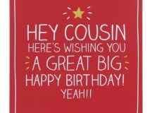 Gorgeous Happy Birthday Cousin Quotes. QuotesGram