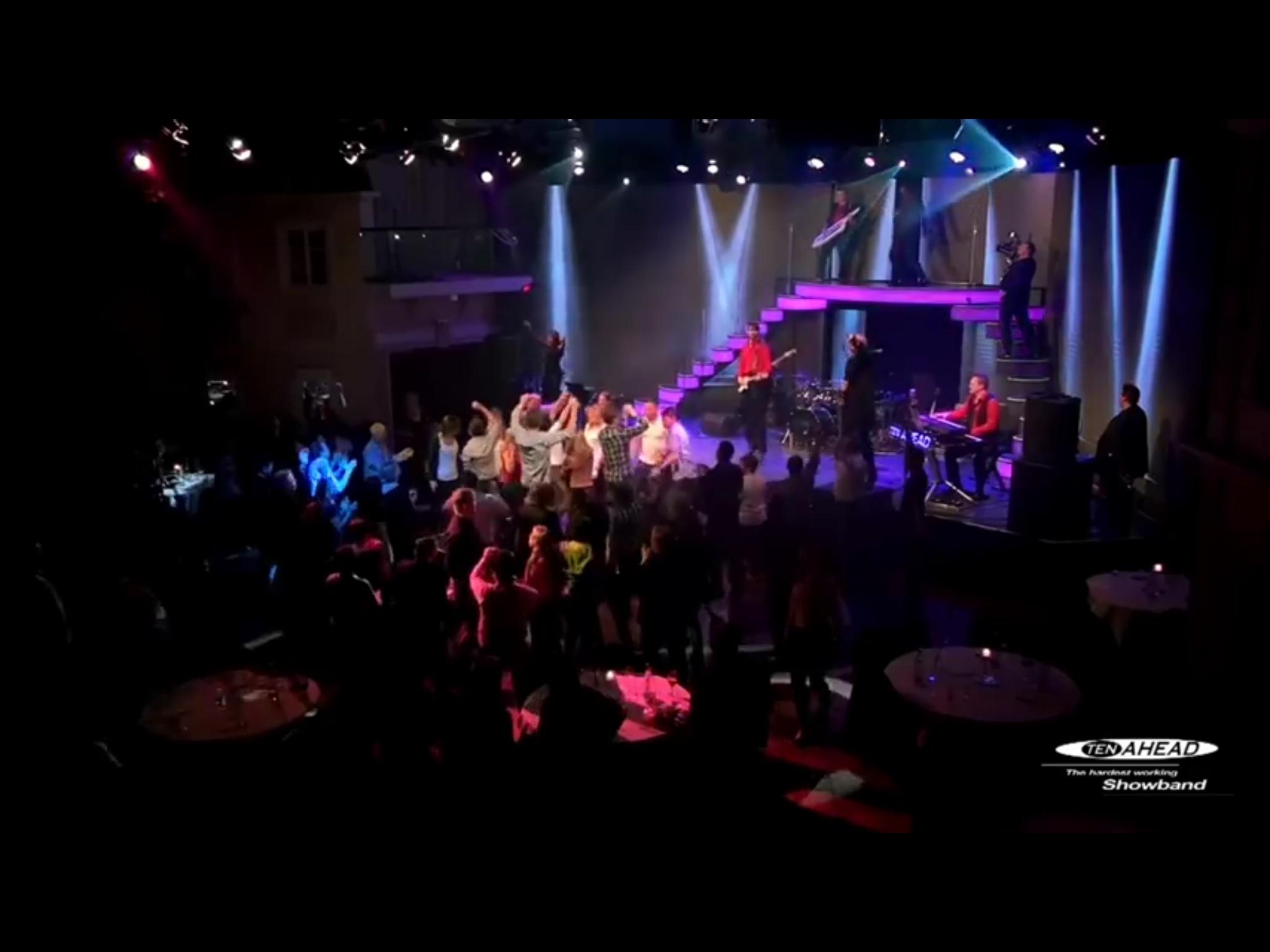 Liveband, Coverband, Partyband, ten ahead, tenahead, Fantissima, Phantasialand, Brühl