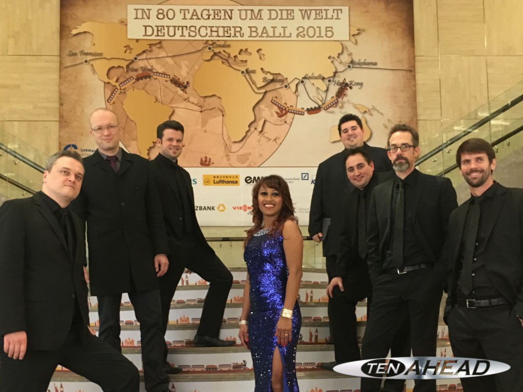 Partyband, Liveband, Coverband, ten ahead, koeln, Köln, NRW, German Ball, beijing