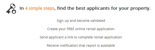 Landlord Steps for Rental Application