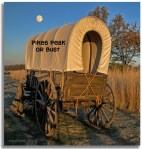 Covered Wagon Pikes Peak Or Bust