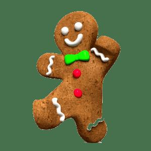 Christmas Gingerbread Man Running 650050 300x300 Transparent Bkgd