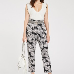 PANTALONI IN COTONE FANTASIA JUNGLE