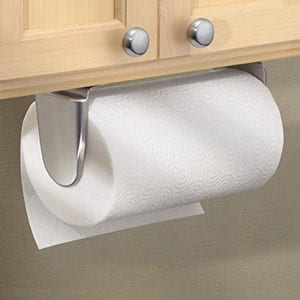 kitchen paper towel holder how much does it cost to remodel a top 10 best wall mount in 2019 reviews mdesign for under cabinet brushed stainless steel
