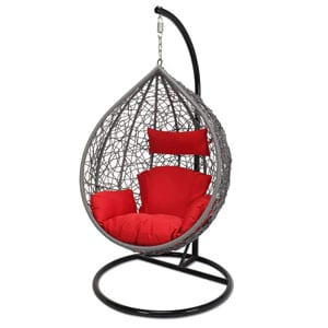 love swing chair bar height tables and chairs top 10 best outdoor wicker with stand in 2019 reviews featuring the familiar egg style for this you will how item offers optimum comfort as or sit gorgeous