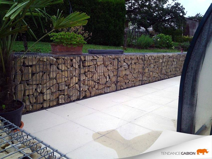 photos de gabions tendance gabion