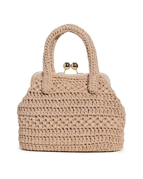 Sac en paille Caterina Bertini Lady Bag