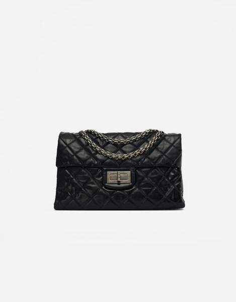Un Chanel 255 large en Vinyl d'occasion