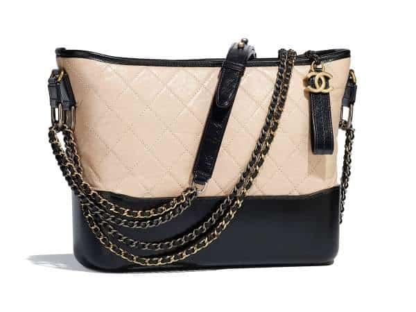 Grand sac Hobo Chanel Gabrielle