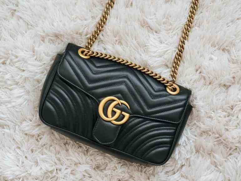 Quelle sac vendre ? Gucci Marmont à rabat à bandoulière