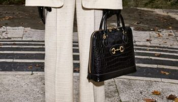 Gucci met l'accent sur ses sacs d'inspiration vintage pour la pré collection 2020