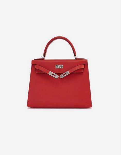 Hermes Kelly 28 Rouge Tomate