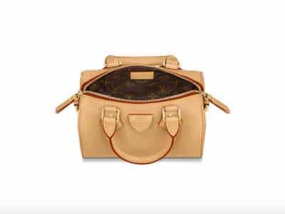 L'intérieur du nouveau sac Louis Vuitton Speedy BB