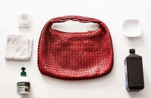 Rénovation d'un sac à main Bottega Veneta d'occasion