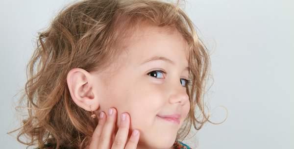 La tendance est aussi à la boucle d'oreille chez les enfants
