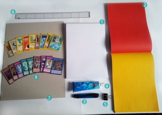 DIY carnet pokemon