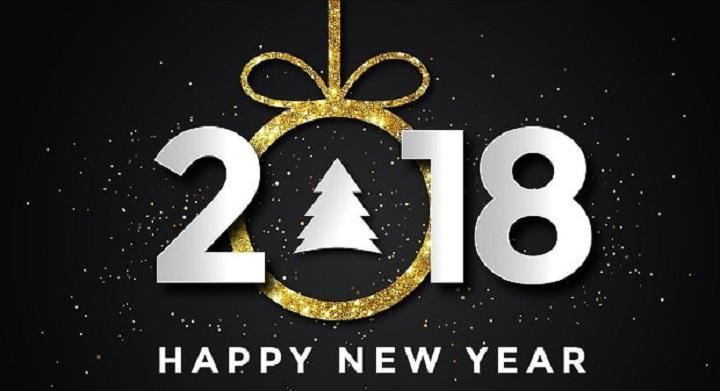 Bonne année 2018 - Blog Tendances SEO