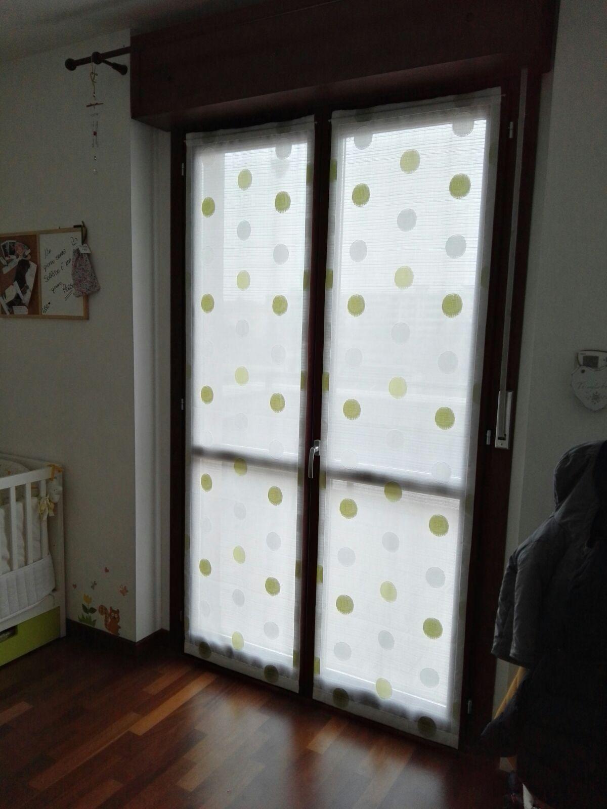 Tende a vetro e tendine per la cucina  MAPI Tende Magenta