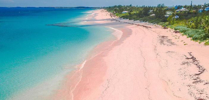 8 increbles playas de ARENA ROSA en el mundo  Tendencia Cool