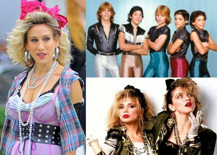 A moda nos anos 80: uma época ousada, atrevida e irreverente