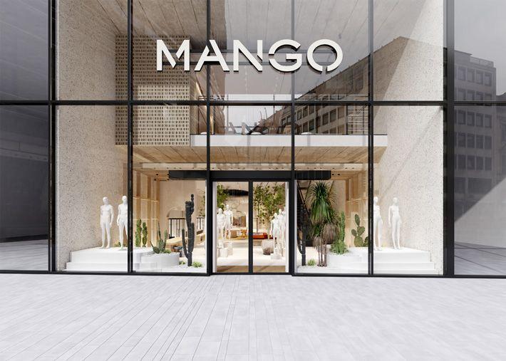 MANGO estreia novo conceito de loja com inspiração mediterrânea
